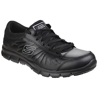Skechers Occupational Womens/Ladies Eldred Slip Resistant Lace Up Work Shoes