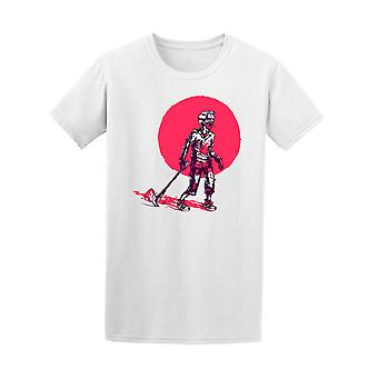 Zombie With Axe Graphic Tee - Image by Shutterstock