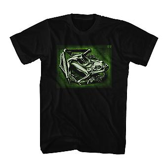 M.C. Escher Frog Men's Black T-shirt