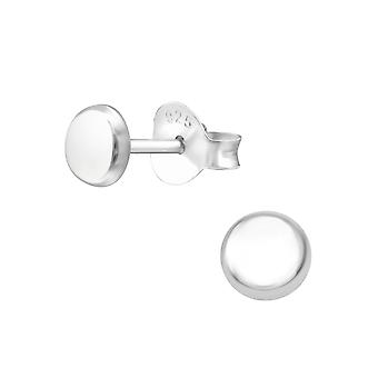 Ronda - zarcillos llano de plata esterlina 925 - W36635x
