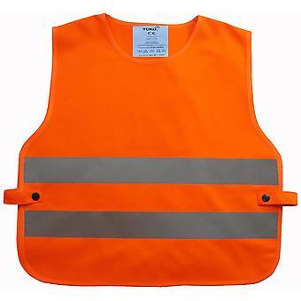Yoko Boys & Girls Hi Vis 2 Elasticated Polyester Band Safety Tabard