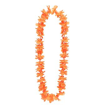 Hawajski kwiat Elena Lei - pomarańczowy