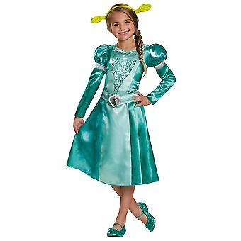Fiona DreamWorks Shrek prinsessa Orge Satu tarina kirja viikko tyttöjen puku