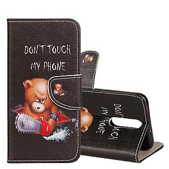 Pocket tegnebog motiv 27 for Huawei mate 10 Lite dækning case pose cover beskyttende dække
