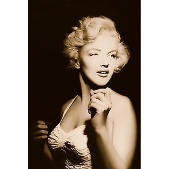 Marilyn Monroe Portrait Poster Poster afdrukken