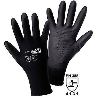L+D worky MICRO black Nylon-PU 1151 Nylon Protective glove Size (gloves): 8, M EN 388 CAT II 1 pair