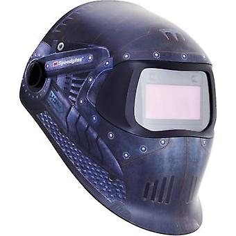 SpeedGlas 100V Trojan Warrior H751620 Welders hard hat EN 379 , EN 166 , EN 175 , EN 169