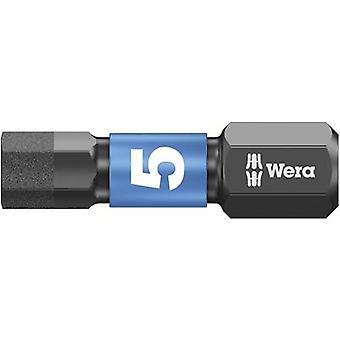 Wera 840/1 IMP DC Hex بت 5 مم أداة سبائك الصلب، DLC المغلفة D 6.3 1 pc (ق)