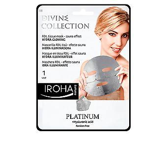 Iroha Platinum Tissue Hydra-glowing Face Mask 1 Use For Women