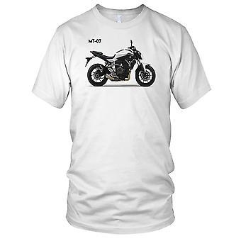 Yamaha MT 07 Motorrad Motorrad Biker Damen T Shirt
