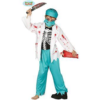 Bambini's costumi ragazzi zombie medico costume per bambini