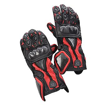 Leather Motorcycle Gloves - Redskins
