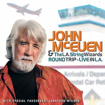 John McEuen & L.a. String Wizards - Round Trip-Live in L.a. [CD] USA import