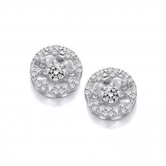 Cavendish French Dancing Cubic Zirconia Star Earrings