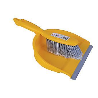 Robert Scott Yellow Dustpan & Soft Brush