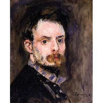 Self-Portrait,Pierre Renoir,39.1x31.7cm