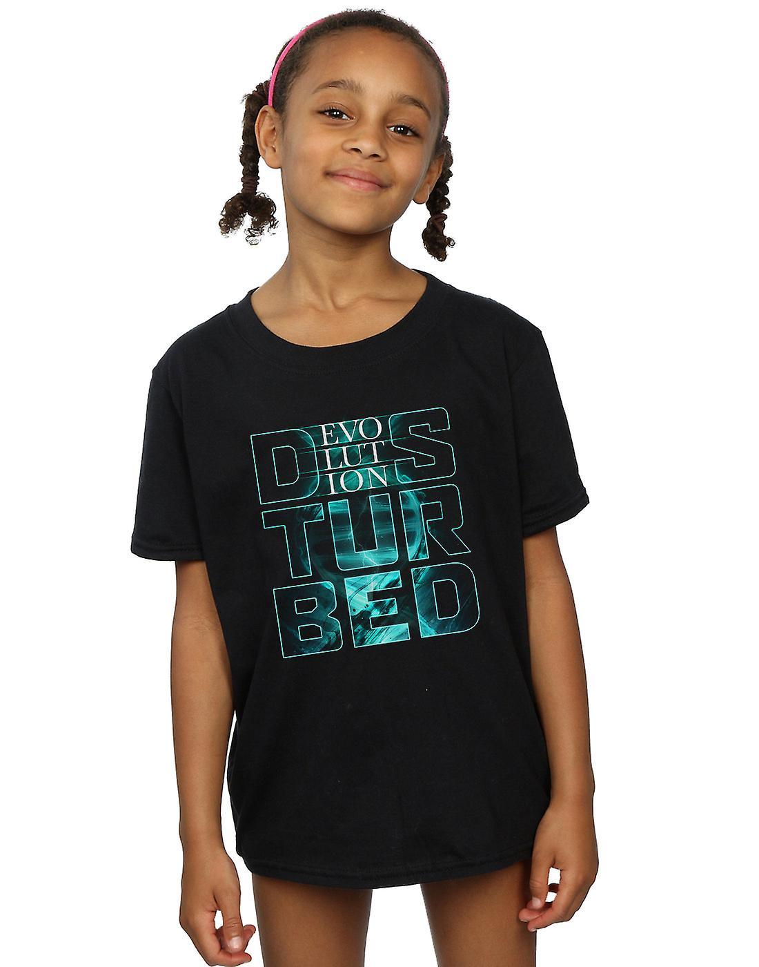 Disturbed Girls Stacked Evolution T-Shirt