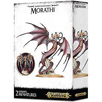 Taller de juegos Warhammer edad de Sigmar hijas de Khaine Morathi