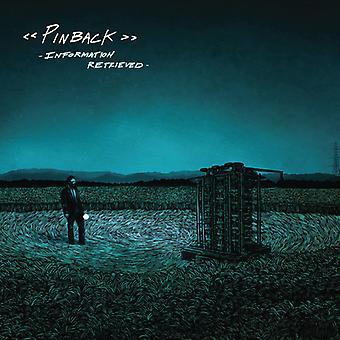 Pinback - Information Retrieved [CD] USA import