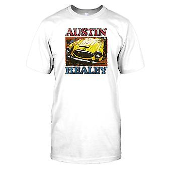 Austin Healey - niños amarillo T Shirt