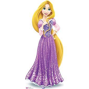 Recorte de papelão princesa Rapunzel Disney / cartaz