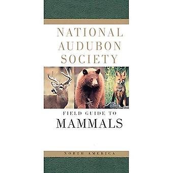 Guía de mamíferos de América del norte (Guía de campo de la sociedad de Audubon) de campo (guías de campo de la sociedad nacional Audubon)