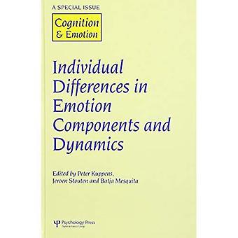 Individuele verschillen in emotie componenten en Dynamics: een themanummer van cognitie & emotie