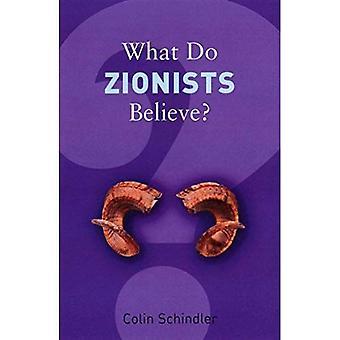 Che cosa credono i sionisti? (Cosa crediamo)