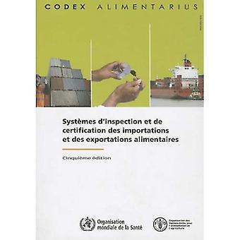 Systemes D'Inspection Et de Certification Des Importations Et Des Exportations Alimentaires