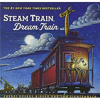 Damp tog, drøm tog (damptog, Dream tog) [brettet boken]