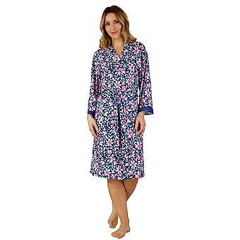 Slenderella GL3705 Women's Gaspe Dressing Gown Loungewear Bath Robe Kimono