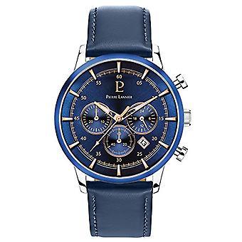 Pierre Lannier Analog quartz men's watch with leather 224G166