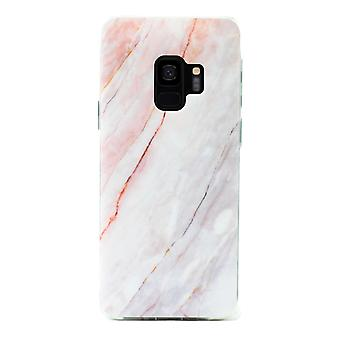 Samsung Galaxy S9+ | Soft, Blue & Pink Marble Case