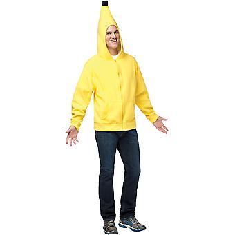 Hoodie Banana vuxen
