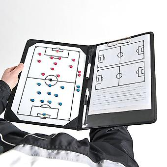 Precision Training Pro Football Soccer Coaches Tactic Folder Clipboard