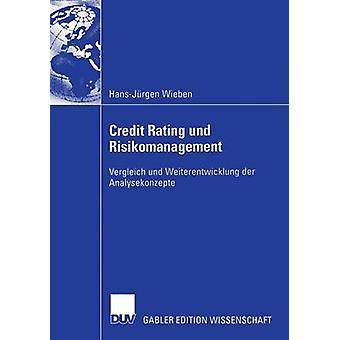 Kreditvärdighet und Risikomanagement Vergleich und Weiterentwicklung der Analysekonzepte av Wieben & HansJrgen