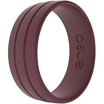 Enso Ringe Ultralite Serie Silikon-Ring - Oxblood