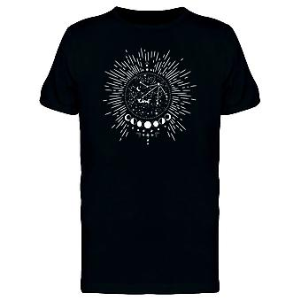 Moon Circle Constellations Space Tee Men's -Image by Shutterstock