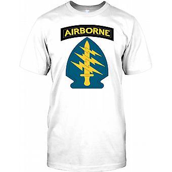 US Army Special Forces - grønne baretter børn T Shirt
