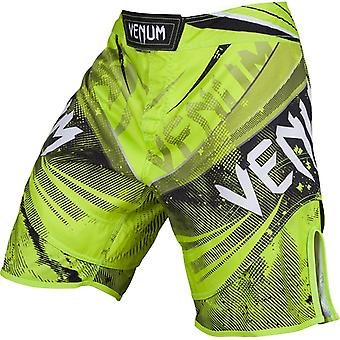 Venum Mens Galactic Fight Shorts - Neo Yellow - bjj mma ufc