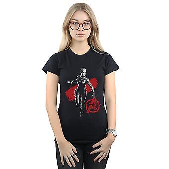 Marvel Women's Avengers Endgame mono Nebula T-shirt