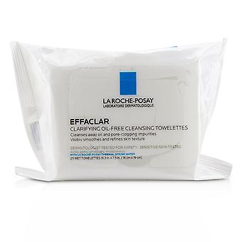 La Roche Posay Effaclar Clarifying Oil-free Cleansing Towelettes - 25wipes