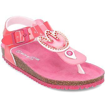 Agatha Ruiz De La Prada 192986 192986AFUCSIA3034 sapatos universais de verão para crianças