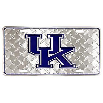 Kentucky Wildcats NCAA «Diamond» plaque d'immatriculation