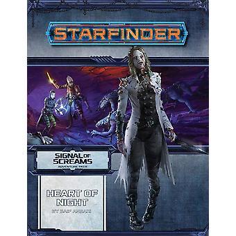 Starfinder Adventure Path hjerte af nat signal af skriger 3 af 3 bog