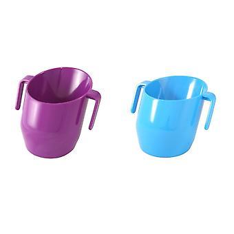 Doidy Cup-Purple & Blue-2 itens