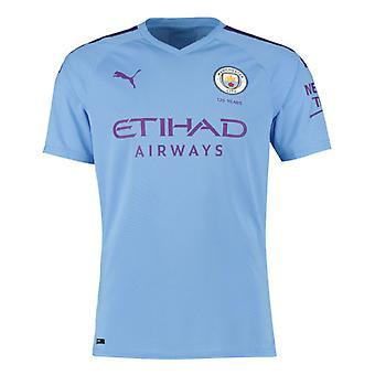 2019-2020 Manchester City Puma Home Auténtica camiseta de fútbol