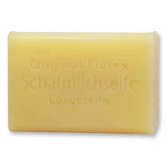 Florex Schafmilchseife - Luxus Seife - hochwertige Seife mit Sheabutter für samtweiche Haut 100 g