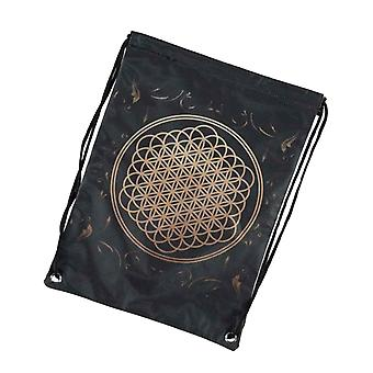 Bring Me The Horizon Gym Draw String Bag Sempiternal Band Logo Official Black