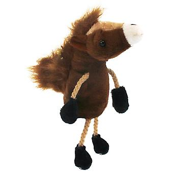 Finger Puppet - Horse New Soft Doll Plush PC020213